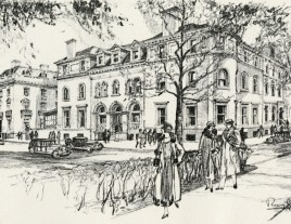 The Curtis Institute of Music by Louis Ruyl, 1925